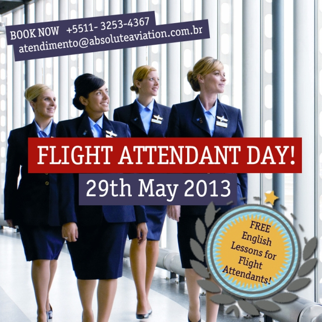 Free English Lessons for Flight Attendants